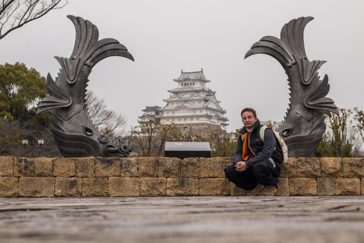 Zamek Białej Czapli - Himeji