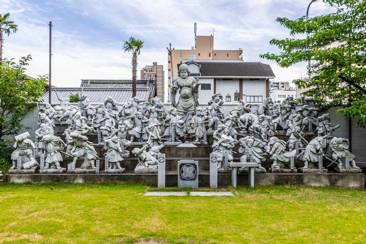 pomnik 47 roninów w świątyni Kichijoji